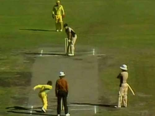 "<b>Third One Day International Final: February 1, 1981, Melbourne</b> <br><br> <b>Result:</b> Australia won by six runs <br><br> Arguably the most infamous match in one-day history, it became known simply as 'the underarm' after Australia captain Greg Chappell instructed brother Trevor to roll the last ball along the ground to prevent New Zealand scoring the six runs they needed to tie.<br><br> The delivery was widely condemned, with Australia great Richie Benaud scathing. New Zealand Prime Minister Robert Muldoon said: ""It was an act of true cowardice and I consider it appropriate that the Australian team were wearing yellow."""