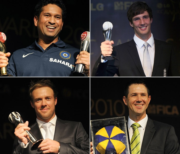 The seventh ICC Annual Awards were held at Grand Castle, Bengaluru, where best cricketers of the year were awarded.<br><br>Up for grabs were nine individual awards and three team honours with the ICC Spirit of Cricket Award as well as the World Test and ODI Teams of the Year Award.<br><br>And the awards went to....