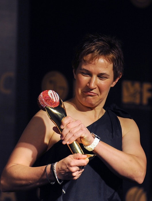 Australia all-rounder Shelley Nitschke has been named Women's Cricketer of the Year. <br><br>During the voting period Nitschke played eight ODIs for Australia scoring 342 runs at the top of the order at an average of 57, while the spinner also claimed 12 wickets. She also played in 10 Twenty20 Internationals amassing 265 runs and 10 wickets.