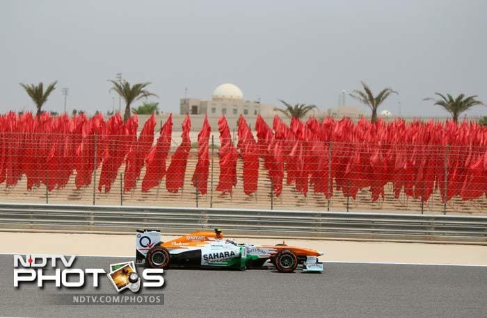 Force India's Paul di Resta was fifth fastest in both the practice sessions.