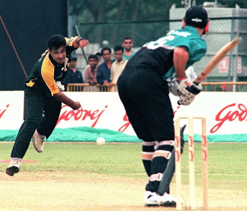 In 2000, Pakistani speedster Waqar Younis became the first bowler to face a ban for ball tampering. He was found guilty lifting the seam off the ball during during an ODI against South Africa in Colombo. Skipper Moin Khan and all-rounder Azhar Mahmood were also hauled up by match referee John Reid but escaped with 30 per cent fine.