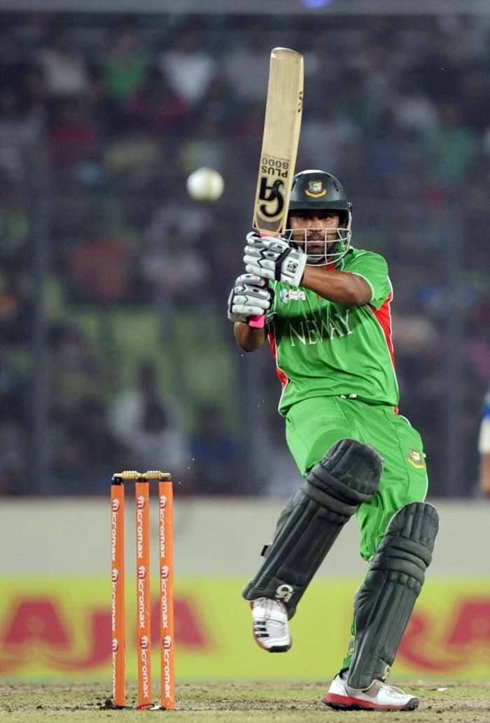 It was a huge total on a slow track but Tamim Iqbal gave his team the perfect start. His 70 was the top-score in the chase.