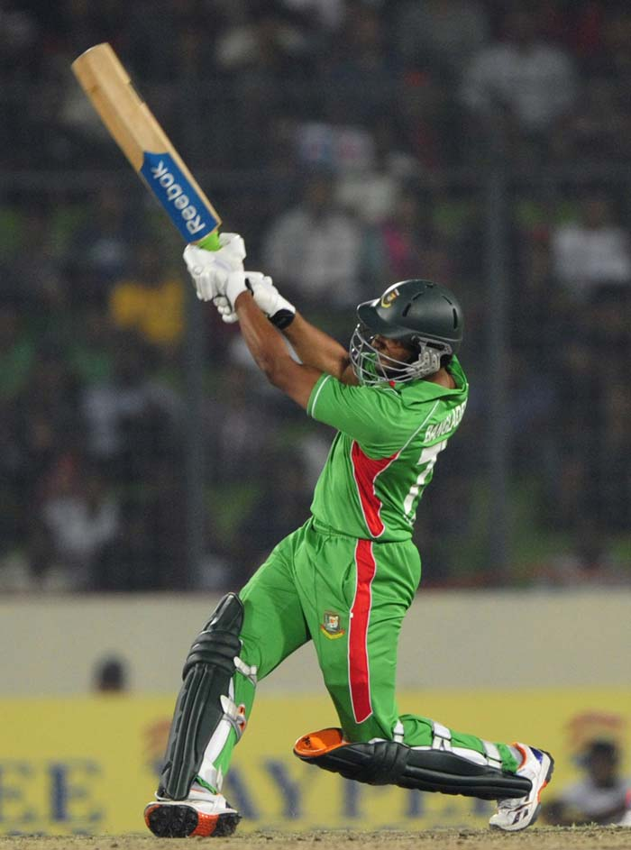 The hosts eventually spanked India for sixes at will and took the match with four balls left to be bowled. This was Bangladesh's third win against India in ODIs.