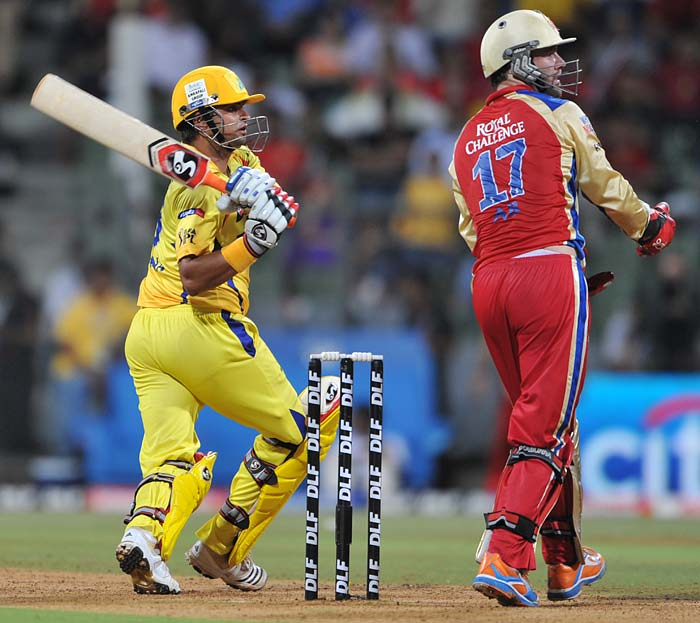 Confidence was though, in no short supply for Suresh Raina as he slammed an unbeaten 73 off 50 deliveries to throw caution to the wind.