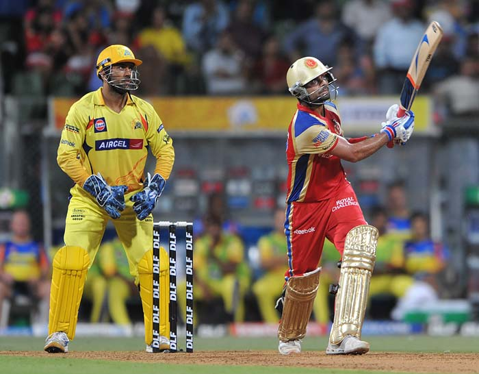 It was Virat Kohli's knock of an unbeaten 70 however that took Bangalore to a commanding total of 175 on a track that seemed to assist both seam and spin.