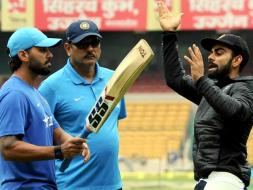 Photo : Team India Prepare for Battle in Bangalore