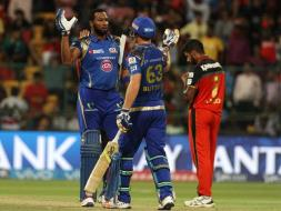 Photo : Kieron Pollard, Jos Buttler Help Mumbai Blow Away Bangalore