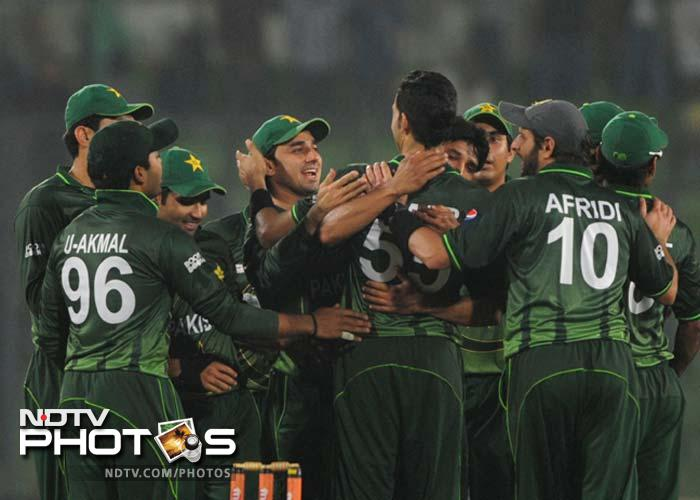 Pakistan defeated Bangladesh by 21 runs in the 1st ODI of the Asia Cup at Mirpur. (Photo: AFP)