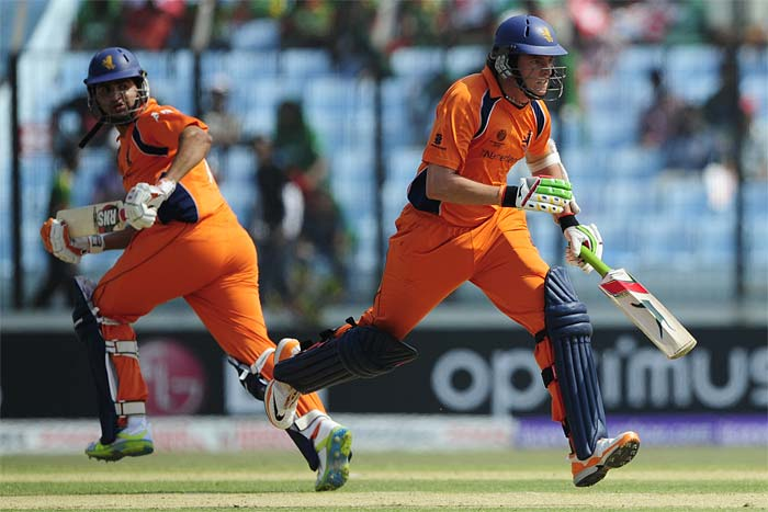 The Netherlands suffered the most due to their horrid running between the wickets, as 4 batsmen were run out.