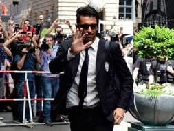 Photo : FC Barcelona, Juventus Arrive in Berlin for High-Voltage Champions League Final