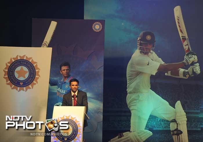 Dravid took the opportunity to speak of how he thought playing for the country shaped him on and off the field.