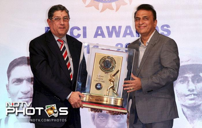The 2012 edition of the BCCI Awards saw several prominent names in Indian cricket get honoured for their contribution to the game over the past year and otherwise. (PTI Images)