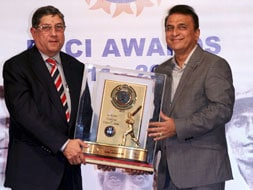 Photo : BCCI Awards 2012: Sachin, Gavaskar, and Kohli among those honoured