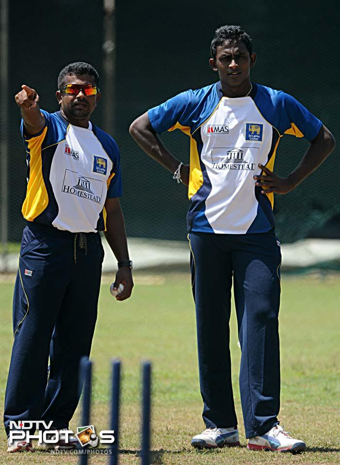 """<b>The spin twins</b>: It is not just the pace of Malinga but also the spin of Rangana Herath and Ajantha Mendis that has propelled the hosts in times of crisis at the World T20. Jayawardena's backing has given the """"twins"""" the confidence and in turn the will to repay his faith in them."""