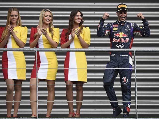 Daniel Ricciardo Wins Belgian Grand Prix