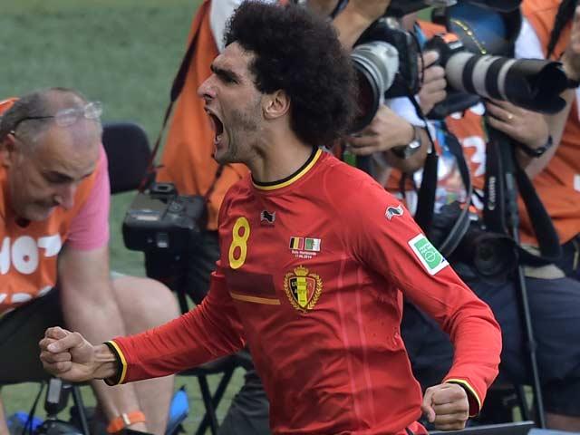 FIFA World Cup: Mertens, Fellaini Help Belgium Win 2-1 Against Algeria