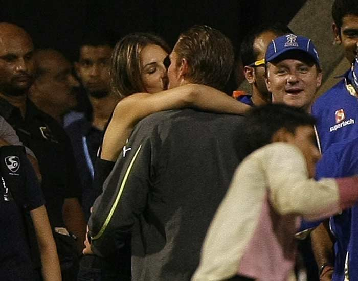 This Aussie with his missy in tow, was easily the most in the news. Whether it was his lip-lock with girl-friends Liz Hurley or his lip-lash against Rajasthan Cricket Association's Sanjay Dixit, Shane Warne ensured his retirement from cricket had enough fire-works to keep the grapevines buzzing for some time.