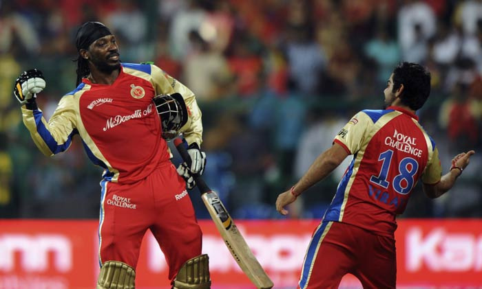 And Chris Gayle was the real power behind the force. His arrogant hitting could only be termed as an unforgiving whiplash as the opposition scampered for cover almost every time he grasped his three-grip bat. His jig on the field was like a death-dance as well. This after he was dropped from the auctions.