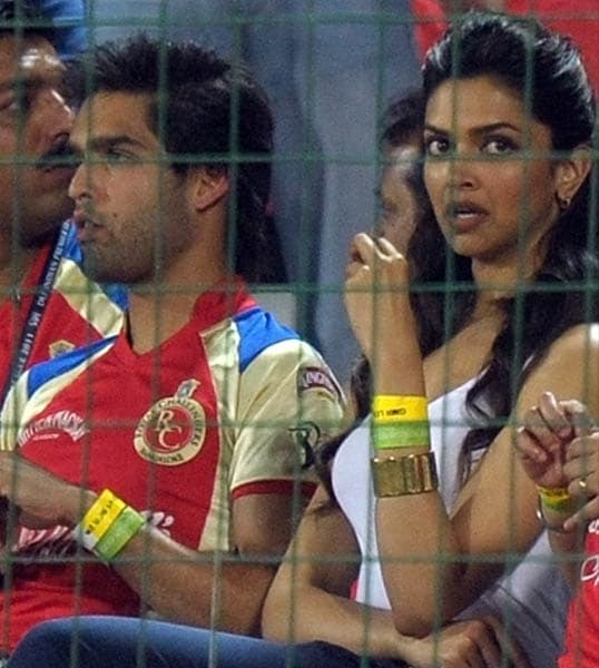 Speaking of lip-locks, Siddhartha Mallya and Deepika Padukone could hardly be seen without one another this season. Their 'love' seemed caged under the cricketing skies even as Bangalore emerged as one of the most powerful force in the tournament.