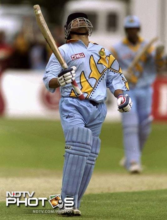 <b>Century after father's death: </b>The sad demise of his father forced Sachin Tendulkar to head back to Mumbai during the 1999 World Cup. During a tough spell, Sachin provided the best tribute he could: he returned to the tournament and scored a century against Kenya at Bristol. He took off the helmet, looked to the heavens, which said it all.
