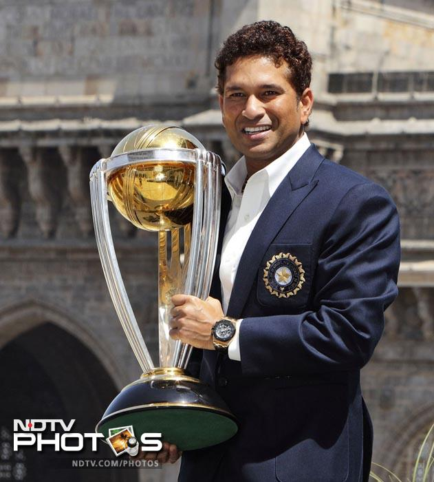 <b>World Cup triumph: </b>The World Cup seemed to be the ultimate goal in Sachin Tendulkar's career. Despite a near-two decade career which had accomplished almost every record in the book, the coveted trophy had eluded the master blaster five times before he finally captured it in 2011.