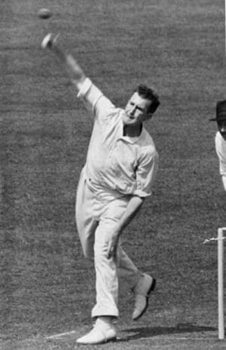 Jim Laker's haul of 19 wickets for 90 runs in the fourth Test against Australia at Old Trafford has never been bettered by any other bowler in the history of Test cricket.<br><br>Many Australians who were there remain convinced for ever more that the pitch had been 'doctored' to assist Laker's off-spin.<br><br>But even if the conditions were in his favour, Laker's feat: which saw him take all 10 Australian wickets in the second innings: was remarkable.<br><br>It was made all the more so by the fact his Surrey colleague and left-arm spinner Tony Lock, who took the only other wicket to fall, was all the time trying to get batsmen out from the other end.