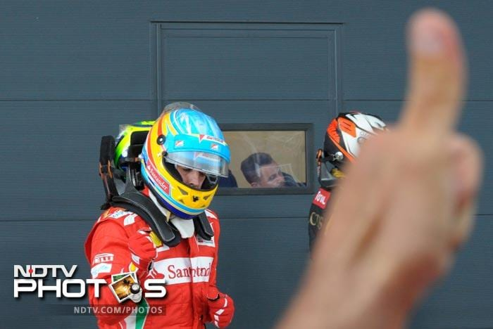 It was top honors for Ferrari in the Qualifiers as Fernando Alonso secured pole position for the British Grand Prix on Sunday.