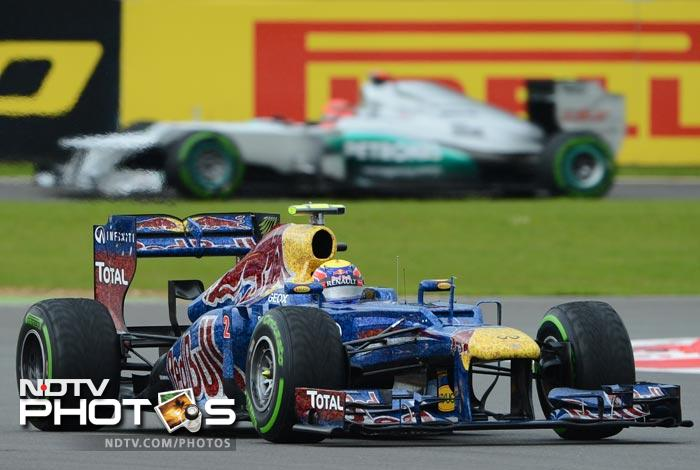 Mark Webber kept the flag flying high for Red Bull as he came second in the Qualifiers.