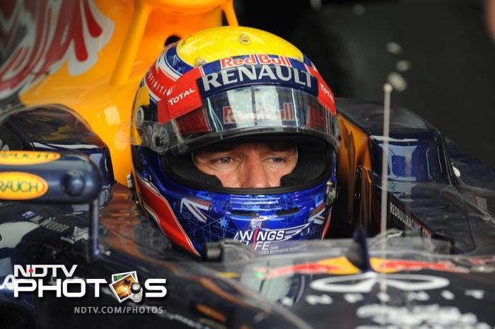 Mark Webber though, ensured that Red Bull had two drivers finish in the top three as he came third in the Qualifiers.