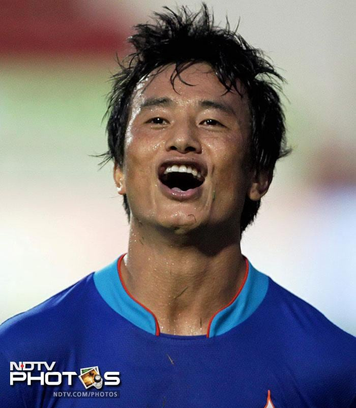 The torch-bearer of Indian football Bhaichung Bhutia announced his retirement from international football.<br><br>The 34-year old had been struggling with injuries for the past one year and could only play 15 minutes in the Asian Cup in Qatar.<br><br>The Sikkim striker who has played over a 100 games for India and is the country's most successful player.