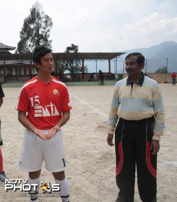 Bhutia for long had been the guiding light for Indian football and inspired many to take up the game despite the fading popularity of the sport.