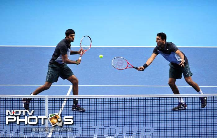 Now it's the fifth time that Bhupathi has ended runners-up at the event, where world's top-8 teams compete for the championship. With Paes he ended runner-up in 1997, 1999 and 2000 and with Max Mirnyi in 2010.