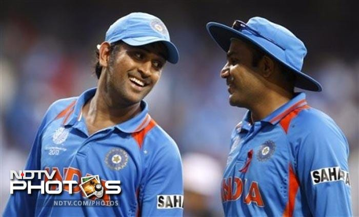"<b>Sehwag vs Dhoni:</b> They were never great friends but their differences of opinion was never this stark. Dhoni, after the crushing defeat against Australia on Sunday, had stated that the three senior openers - Sehwag, Sachin Tendulkar and Gautam Gambhir - were not being picked together in the tournament because they are slow fielders and could cost the side at least 20 runs.<br><br>Sehwag, who was playing a stand-in skipper in the next match, retorted and said Dhoni gave a different reason to them for playing youngsters. ""What he told us was to give chance to youngsters and come here and play the next World Cup. That was what he told us,"" Sehwag said.<br><br>Clearly, all's not well in Team India."