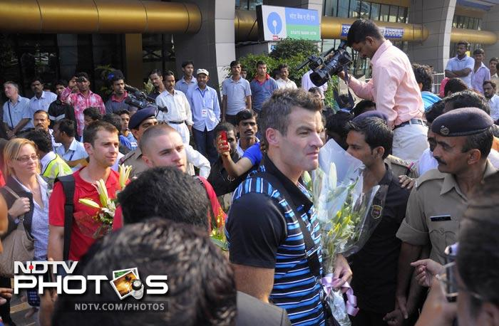 Blackburn Rovers arrive in India