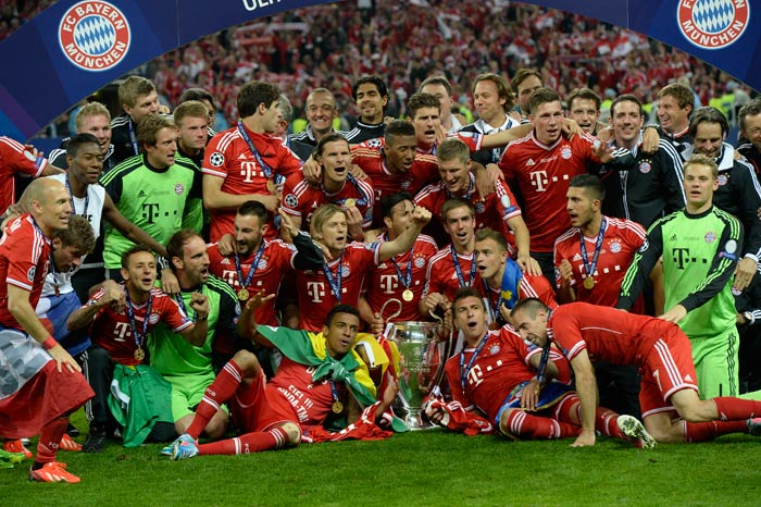 A 2-1 win over Borussia Dortmund saw Bayern Munich win the UEFA Champions League 2012-13 at the Wembley stadium in London. (AFP Photos)