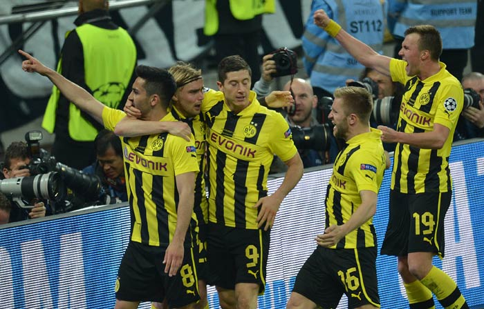 Ilkay Gundogan equalised for Borussia and the match looked set to go down the wire.