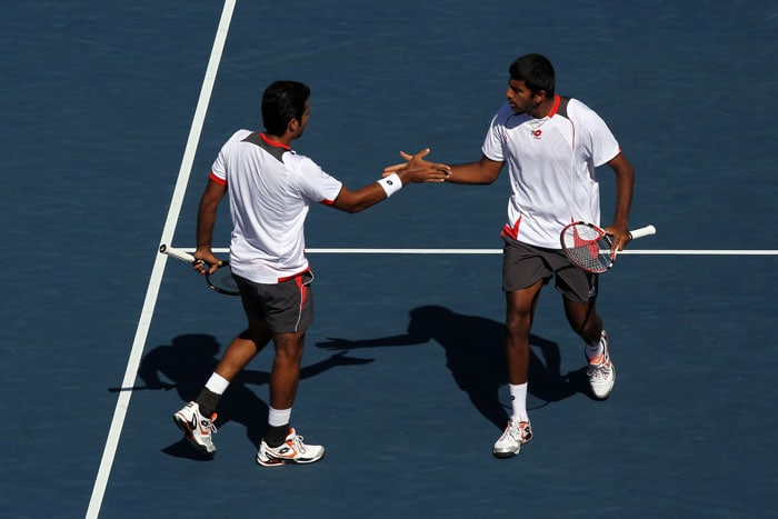 Congratulating Rohan Bopanna and Aisam-ul-Haq Qureshi for reaching the US Open men's doubles final, Sports Minister MS Gill said the pair's success should lead to better sporting ties between India and Pakistan.