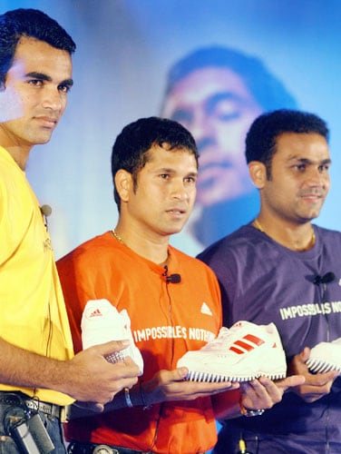 Sachin is not only the undisputed king of cricket but he's also the biggest sporting icon in the ad-world. Though in a recent report, India's ODI skipper MS Dhoni ranks ahead of him but the batting maestro has ruled for over 15 years and is still the face of many top-notch brands.