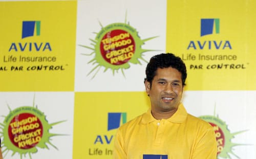 Tendulkar had signed a sports management deal with World Tel in 1995, the value of the deal being 30 crore rupees over 5 years. He renewed his contract in 2001 for 80 crores over 5 years. In 2006, Saatchi and Saatchi's ICONIX signed him for 180 crores till 2009.