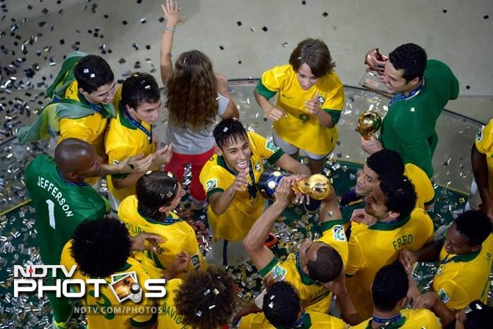 The win gave Brazil a hat-trick of Confed Cup titles and their fifth overall. It was Spain's first loss in a major final in recent times.