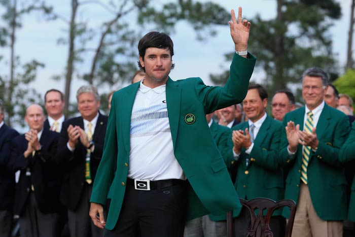 Watson became the 17th multiple winner of the Masters with his sixth career title.