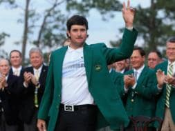 Bubba Watson claims green jacket with title win at Augusta Masters