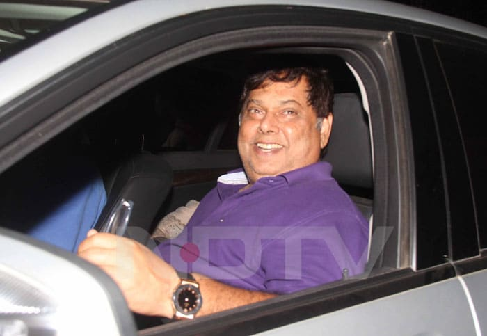 With all the <i>No. 1</i>'s to his name, director David Dhawan was ecstatic that Team India was now the No. 1 ream. <br>(Photo Courtesy: Varinder Chawla)