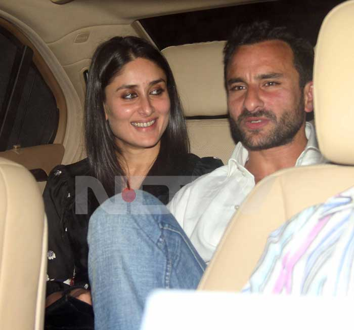 The two were spotted on their way to producer Ritesh Sidhwani's celebratory do.<br>(Photo Courtesy: Varinder Chawla)