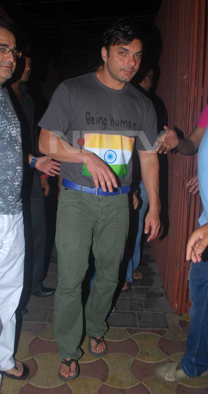 Sohail Khan hosted a party for the big win too. <br>(Photo Courtesy: Varinder Chawla)