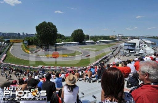 The 4.361 kilometer track here enjoys packed stands during races and the same could be seen in the run-up to Sunday's race as well.