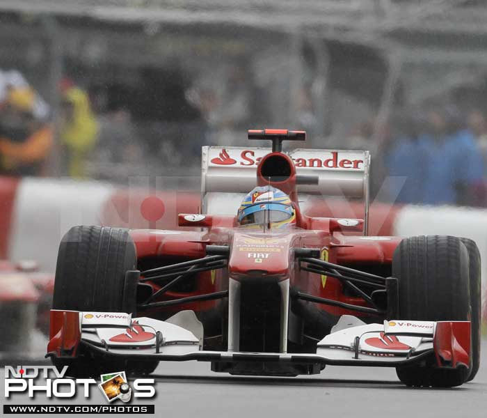 The race though was all about the drivers in the front as Felipe Massa in the other Ferrari finished on the sixth spot.