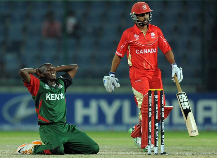 Kenya made late strikes but it proved to be far too late in the match as Bagai sealed the match with an unbeaten 64. Canada will next play New Zealand on Sunday and Kenya take on Australia on the same day.