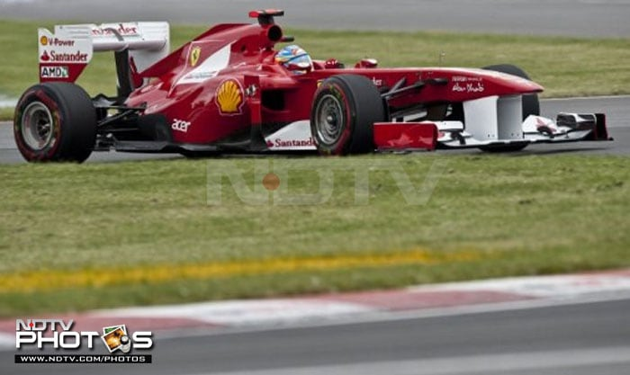 Ferrari's Fernando Alonso displayed good pace throughout the practice sessions and didn't step off the pedal in qualifying too, taking the 2nd spot. Ferrari will be delighted with the progress they have made since the start of the season. (AFP Photo)