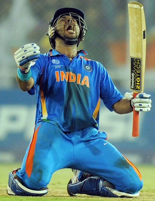 Every cricket fan and follower was shocked and saddened when they came to know that Yuvraj Singh, India's hero of the 2011 World Cup, is fighting cancer and is undergoing treatment in the United States. But everyone believes that the fighter that Yuvraj is, he will be triumphant. And he can take inspiration from other sportspersons who have successfully beaten this life-threatening disease and emerged as true champions, both on and off the field. Let's take a look: